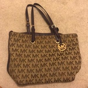 Michael Kors canvas bag